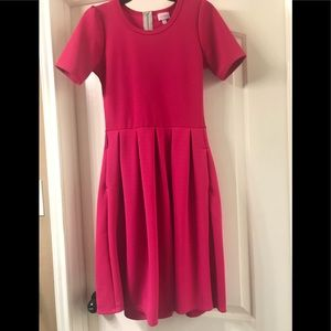 Lularoe Amelia dress. Like new! Small